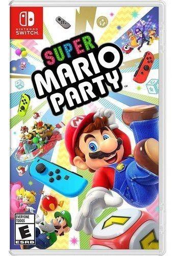 Super Mario Party Switch Midia Física Novo