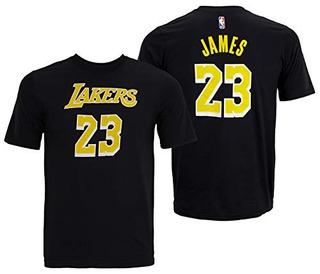 Nba Youth Los Angeles Lakers Lebron James Playera De Jugador