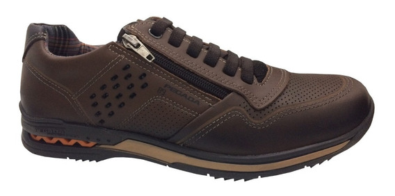 Sapatênis Pegada Sapato Masculino 114807 114852 Em Couro