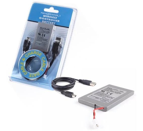 Bateria 1800mah De Controle Wireless Dualshock Playstation 3