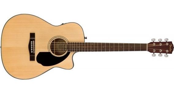 Fender Cc-60sce Natural Fishman Electroacustica - Cuotas
