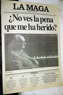 Revista La Maga Año 1995 Osvaldo Pugliese