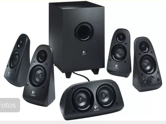 Home Theater. Speakers Z506 Logitech 5.1 Sonido 3d.