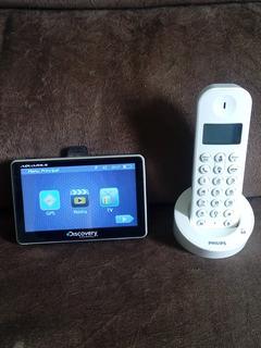 Vendo Um Gps Mais Um Telefone Sem Fio Em Otimo Estado