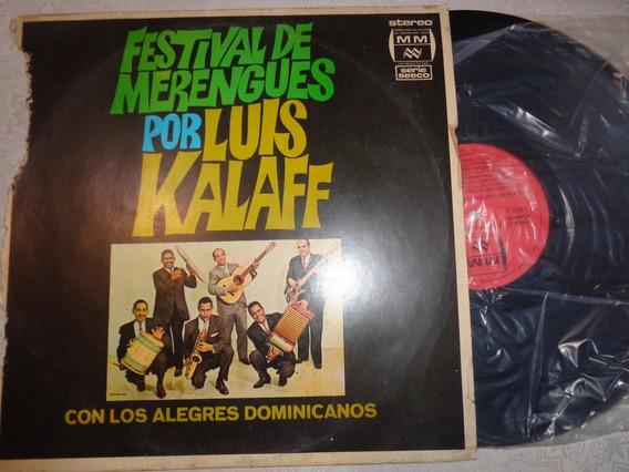 Lp Luis Kalaff, Festival De Merengues- Raro