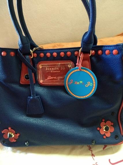 Cartera Azul Juanita Jo