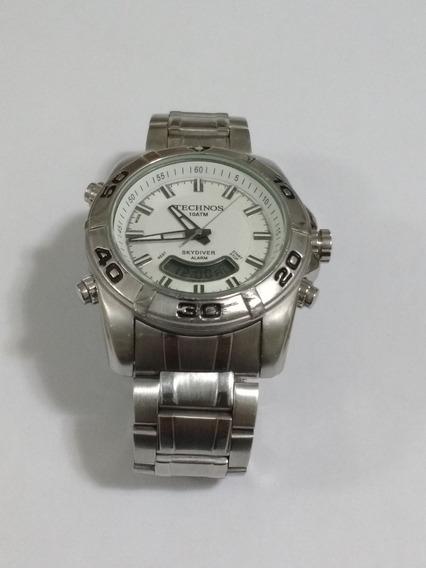Relógio Technos T205.cb Funcionando, Original.