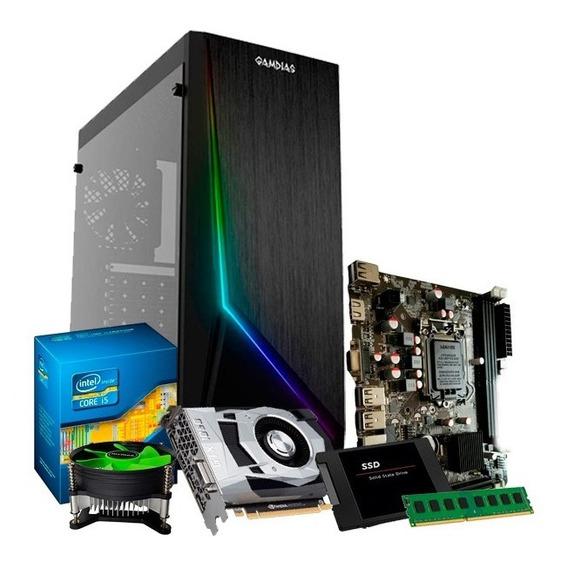 Pc Gamer I5, 8gb, Geforce 2gb 1050 Gtx, Ssd 240, 500gb + Nfe