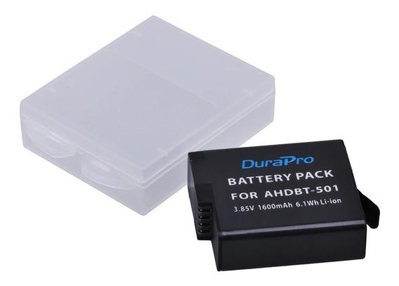 Bateria Recarregavel Ahdbt-501 P/ Gopro Hero 5 6 7 Black Etc