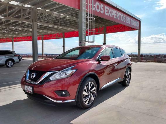Nissan Murano 2019 5p Exclusive V6/3.5 Excelente Estado