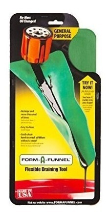 Form-a-funnel Herramienta De Drenaje Flexible: Uso General