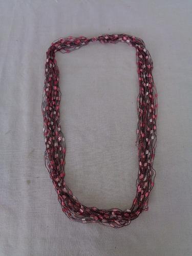 Cordão Tecido Vintage Rosa 04*