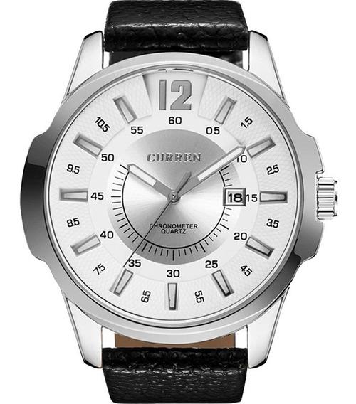 Relógio Curren Masculino Barato Garantia Nota 10458