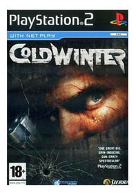 Cold Winter Ps2 Playstation 2 Português Imagem Iso Envio Já