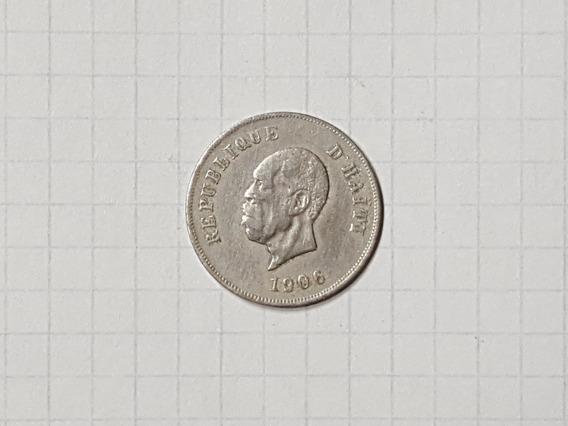Haiti 10 Centavos 1906 Linda Y Escasa