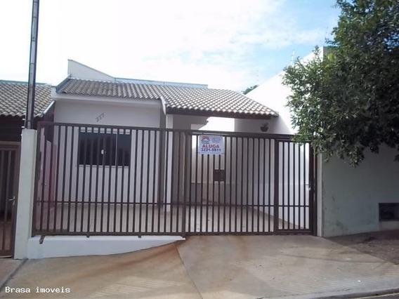 Casa Para Locação Em Presidente Prudente, Jd. Maracanã, 3 Dormitórios, 1 Suíte, 2 Banheiros, 1 Vaga - 00211.002
