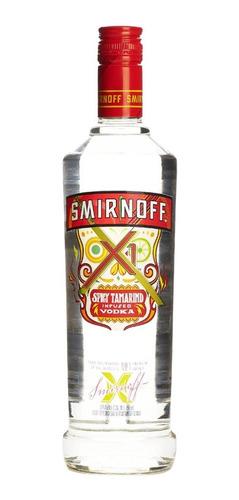 Imagen 1 de 1 de Botella De Vodka Smirnoff Sabor Tamarindo 750ml