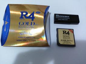 Cartão R4 Gold Pro 2016 Com Micro Sd 8gb