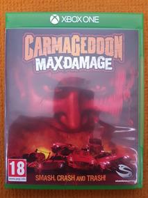 Carmageddon Max Damage (mídia Física - Xbox One)