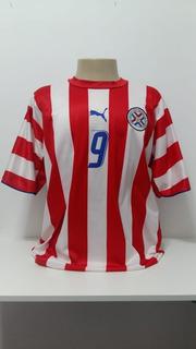 Camisa Selecao Paraguai # 9 Roque Santa Cruz