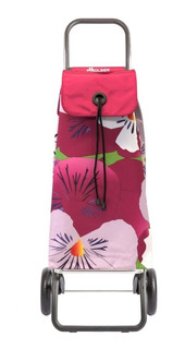 Carrito Compras Rolser Taku Color Rosa