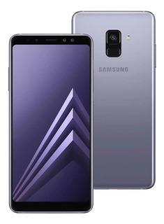 Samsung Galaxy A8+ 2018 A730f/ds 64gb Dual Ametista Lacrado