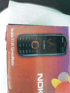 Nokia 5130 Express Music. Azul. Libre. $1199