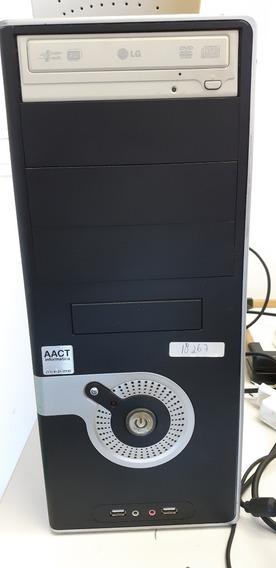 Computador Completo C/ Impressora Hp, 2gb Ram, Amd Semprom
