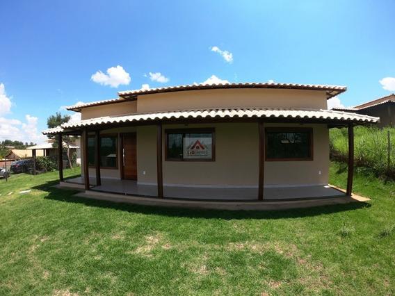 Linda Casa Nova A Venda No Vale Do Luar Próximo Lagoa Santa - 3895