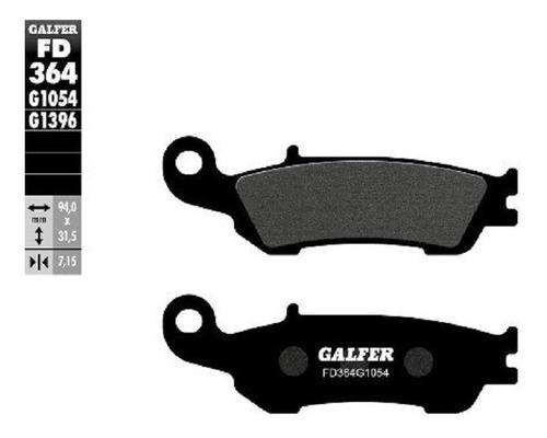 Galfers/m Pastillas Freno Del. Yz 125 250 250 F Fx 450 450fx