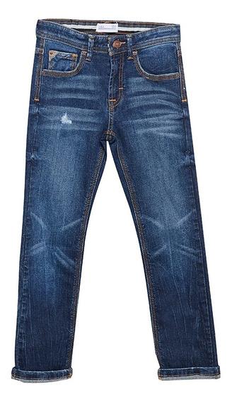 Jeans Slim De Niños C&a 1058781