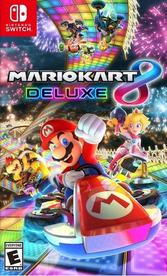 Mario Kart 8 Deluxe Switch Mídia Física Lacrado