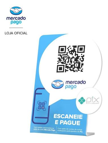 Kit Para Cobrar Com Qr - Oficial Mercado Pago - Aceita Pix!