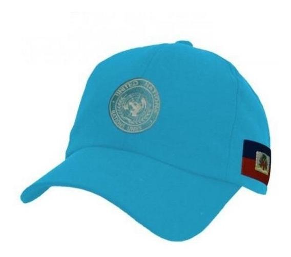 Boné Minustah Força De Paz No Haiti Tático Original