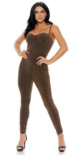Catsuit Metálico