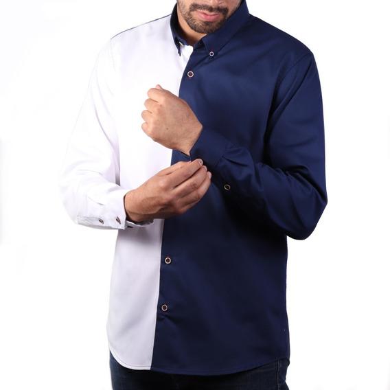 Camisa Paolo Marino Blanco Comfort Fit Algodón Envío Gratis