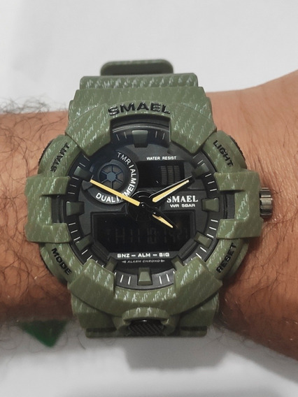 Relógio Masculino Smael 8001 Esportivo Digital