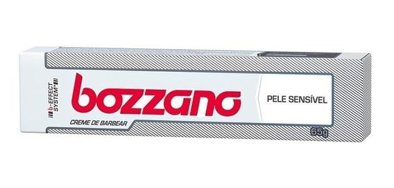 Creme De Barbear Bozzano 65 Gr Pele Sensível (kit/03 Und)
