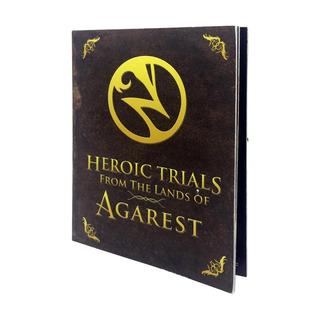 Livro De Arte Heroic Trials From The Lands Of Agarest