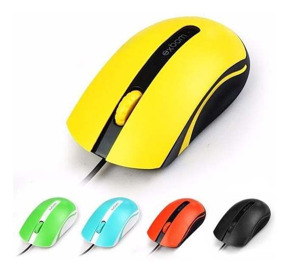 Mouse Gamer Usb Color 3d Cores Sortidas - Ms-50