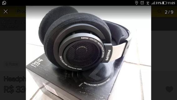 Fone De Ouvido Headset Philips Shp 9500 Usado