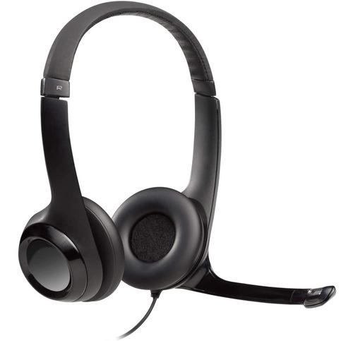Logitech H390,  Auriculares Usb Con Micrófono