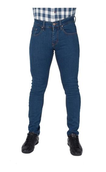 Pantalón Skinny Hombre Strech 3 Tonos Envio Gratis