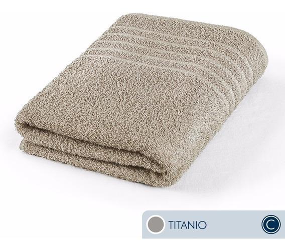 Oferta!! Toallas Ama De Casa Classic Baño 130x68cm Titanio