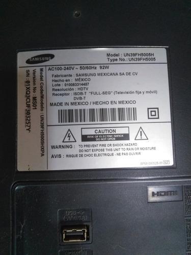 Samsung Tv Repuesto Modelo Un39fh5005h