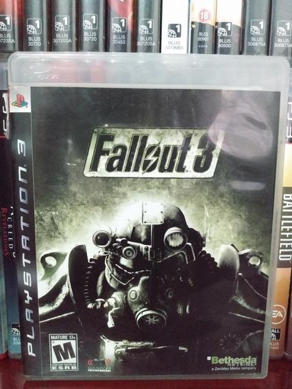 Fallout 3 Original Ps3 Completo | Parcelamento Sem Juros