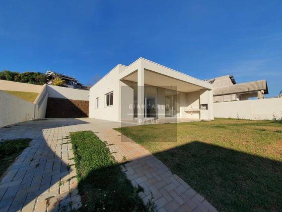 Casa Nova A Venda Com 3 Quartos No Condomínio Fechado Serra Da Estrela Em Atibaia - Ca0398
