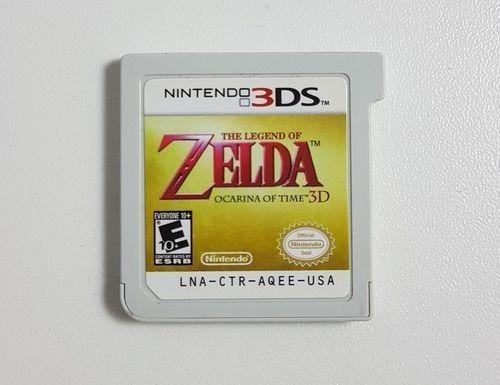 Zelda Ocarina Of Time 3d 3ds Pronta Entrega