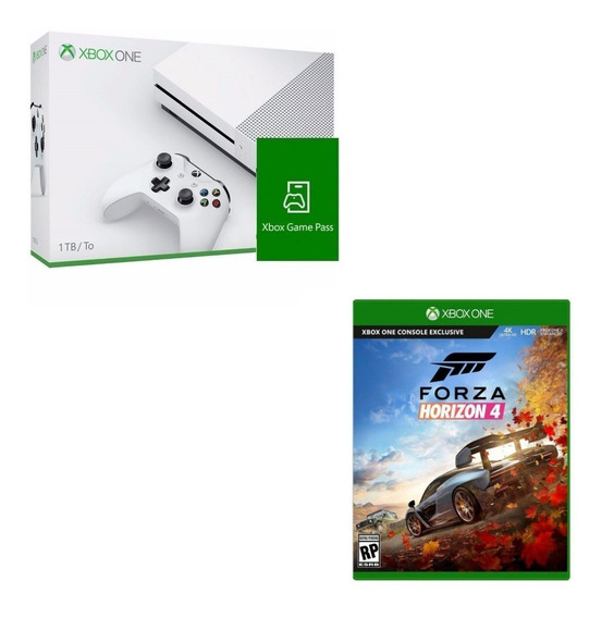 Console Xbox One S 1tb + Game Pass + Forza Horizon 4