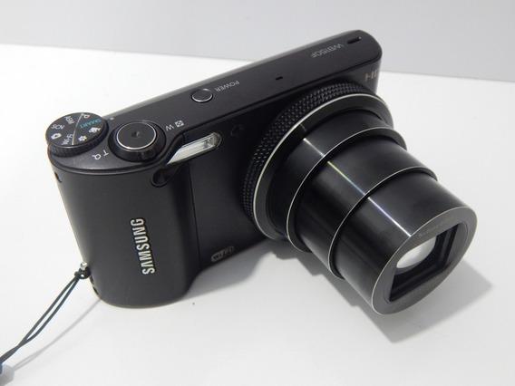 Câmera Hd Samsung 18x De Zoom Wb150f